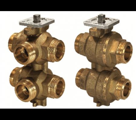 vwg41.20-1.0-2.5 6-ходовой регулирующий шаровой клапан siemens BPZ:S55230-V152